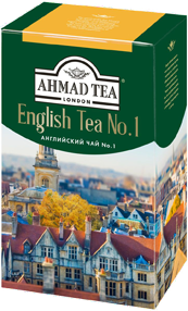 Ahmad english no 1 черный чай 100г