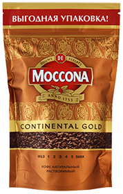 MOCCONA CONTINENTAL GOLD 140 гр
