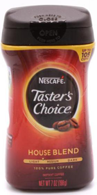 TASTERS CHOICE HOUSE BLEND 198 гр
