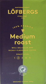 LOFBERGS MEDIUM ROAST 500 гр
