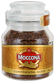 MOCCONA CONTINENTAL GOLD 47,5 гр