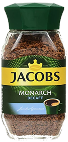 JACOBS MONARCH DECAFF 95 гр