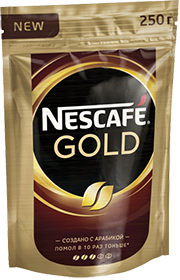 NESCAFE GOLD 250 гр