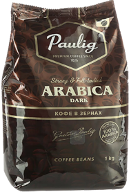 PAULIG ARABICA DARK Вес 1 кг