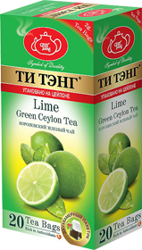 ТИ ТЭНГ CITRUS GREEN CEYLON TEA 20 ПАКЕТИКОВ