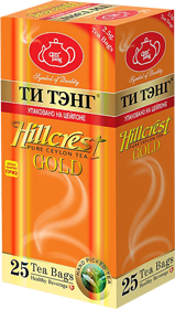 ТИ ТЭНГ HILLCREST BLACK CEYLON TEA 25 ПАКЕТИКОВ
